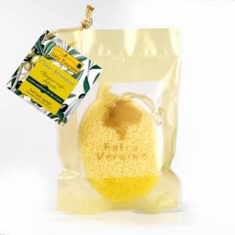 Spugna corpo delicata all'olio d'oliva