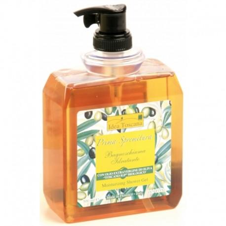 Bagnoschiuma idratante all'olio d'oliva 500 ml